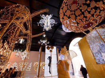 Iluminación creada por la empresa familiar cordobesa Iluminaciones Ximénez