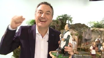 Antena 3 monta el Belén con los rostros más populares de la cadena
