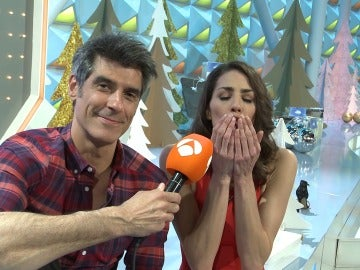 La felicitación navideña de Laura Moure y Jorge Fernández para los seguidores de 'La ruleta de la suerte'