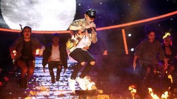 Fran Dieli imita a Justin Bieber -