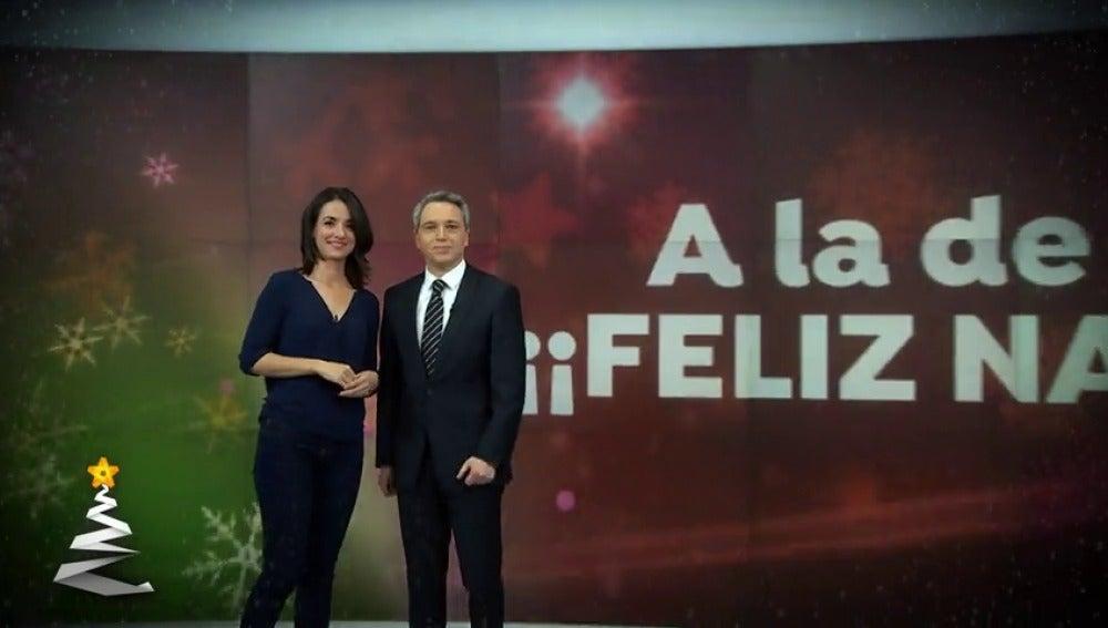 Antena 3 Tv Antena 3 Noticias Les Desean Unas Felices Fiestas Con