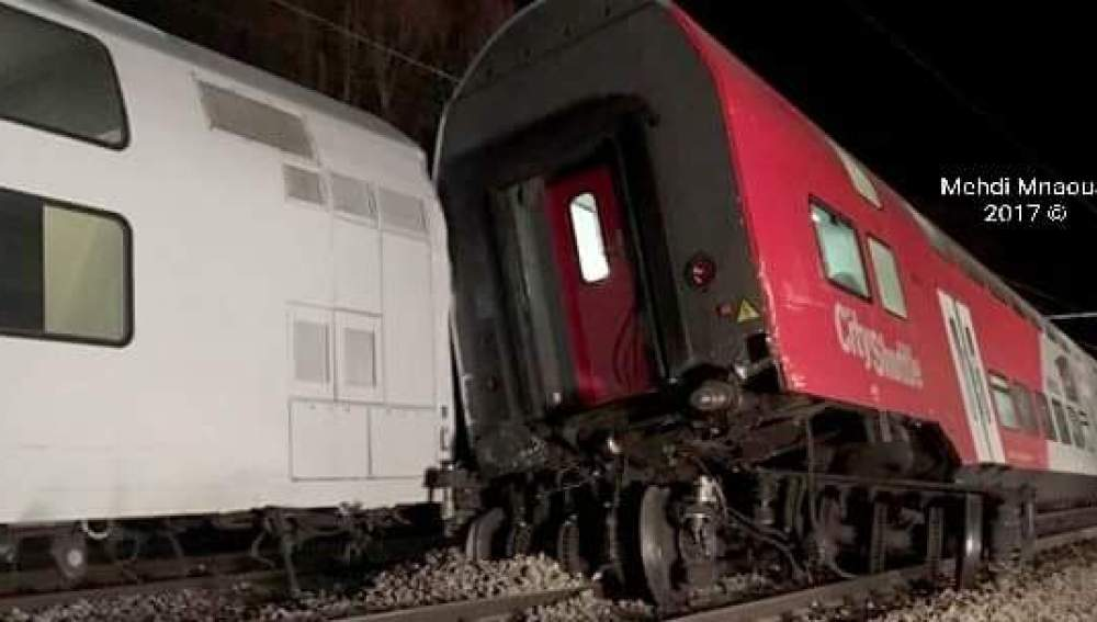 Accidente de tren en Austria