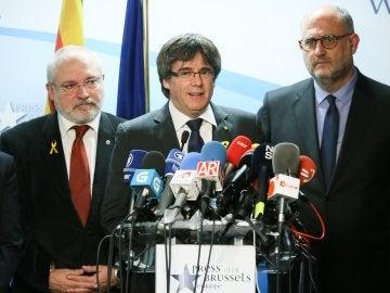 Carles Puigdemont, president cesado de la Generalitat