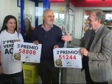 La gasolinera de Granadilla pellizca el gordo y se abona a la suerte por quinto año consecutivo