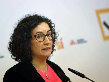Marta Rovira, en rueda de prensa