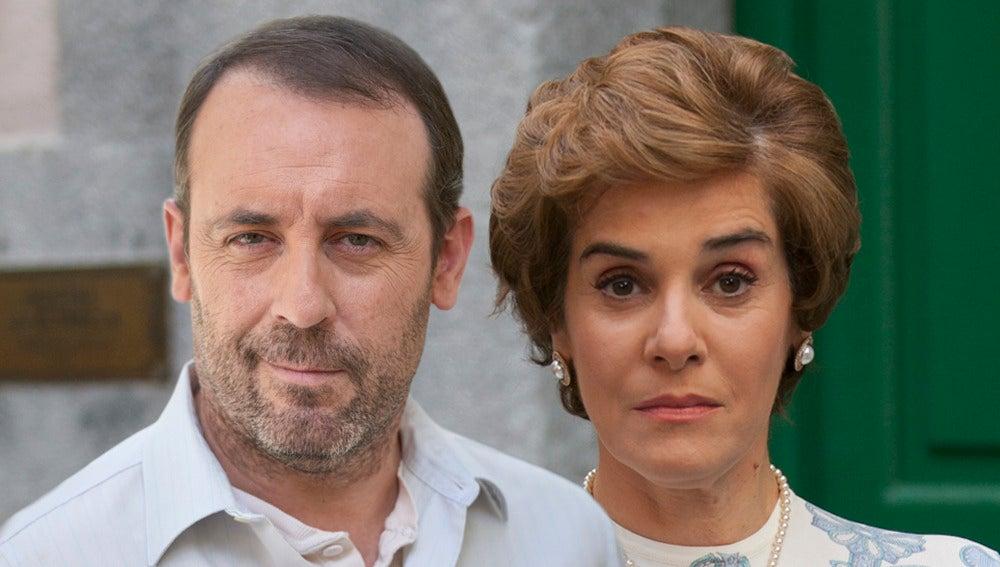 Antonio Molero y Anabel Alonso son Benito y Benigna en 'Amar es para siempre'