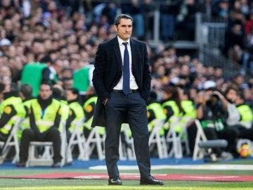 Valverde, en la banda del Santiago Bernabéu