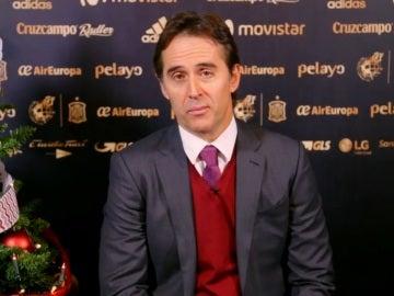 Julen Lopetegui, seleccionador nacional