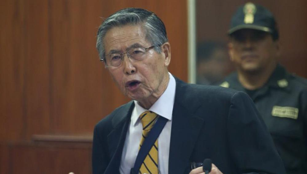 Fotografía de archivo del expresidente peruano Alberto Fujimori