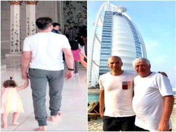 Simeone y Zidane coinciden en Dubai