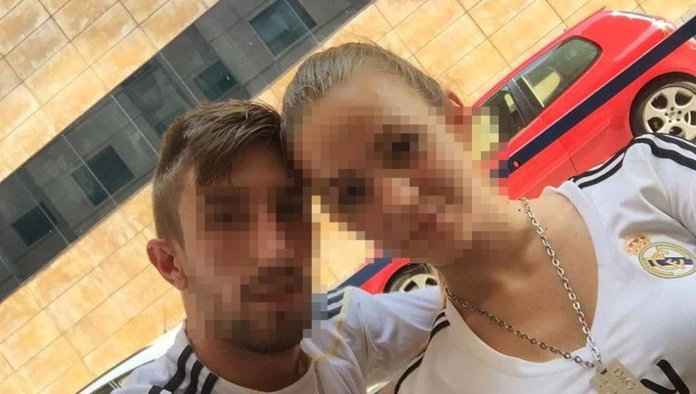 La joven de Benicàssim en una foto con su entonces pareja