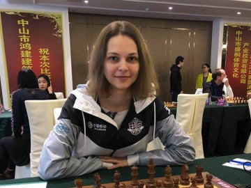 Anna Muzychuk, campeona mundial de ajedrez