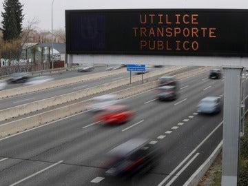Imagen de coches circulando