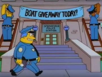 Imagen del capítulo de los Simpson