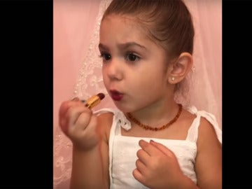 Fragmento del vídeo viral de Liriana