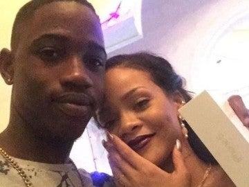 Rihanna y su primo asesinado Tavon Kaiseen Alleyne