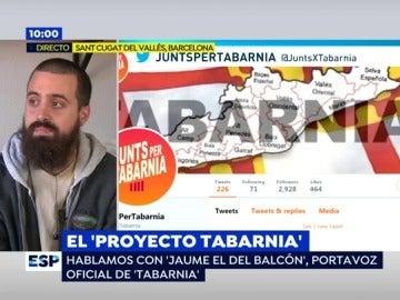 """Jaume Vives, portavoz oficial de Tabarnia: """"Está empezando a conseguir su objetivo: que los propios independentistas se desmonten sus argumentos"""""""