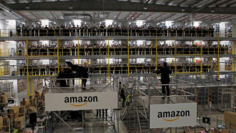Centro logístico de Amazon