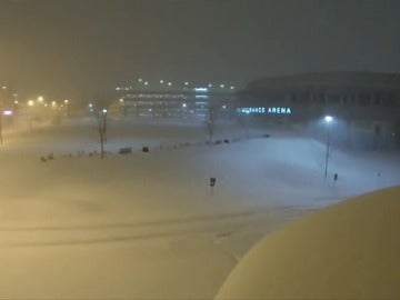 La ola de frío polar en Estados Unidos deja estas imágenes en Pensilvania