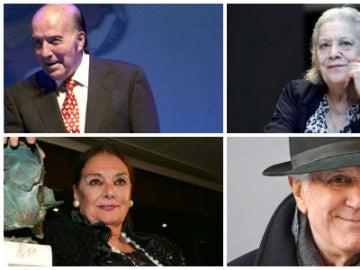 Algunos de los rostros de la cultura que nos han dejado este 2017