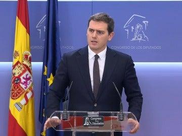 """Rivera: """"No es legítimo que gobierne Cataluña quien no cumple las leyes"""""""