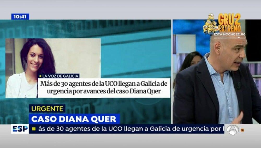 Antena 3 tv detenido el principal sospechoso de la for Espejo publico diana quer