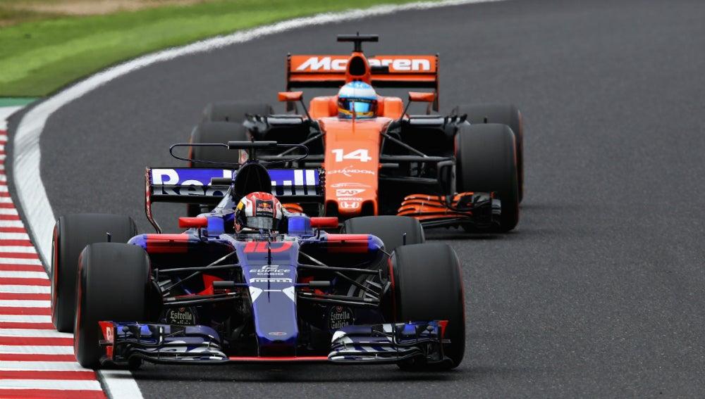 Fernando Alonso, tras un Toro Rosso