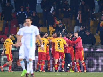 Primera victoria del Benevento