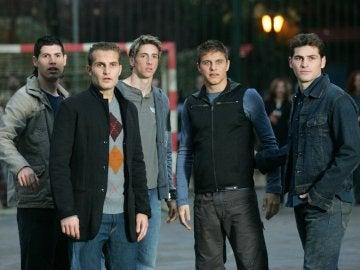 Luque, Baraja, Torres, Joaquín y Casillas