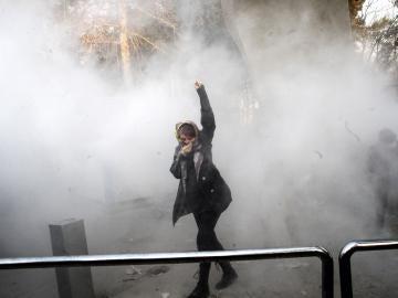 Manifestaciones contra el Gobierno en Irán