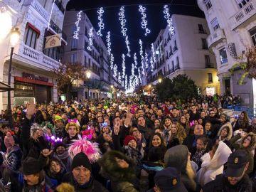 Celebración Nochevieja en la Puerta del Sol