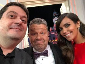 Bartual se hace un selfie con Chicote y Pedroche