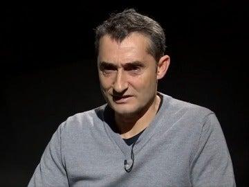 Valverde, durante la entrevista