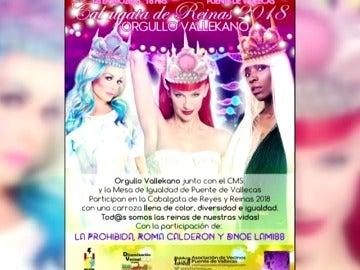 Polémica en Vallecas por la participación de una drag queen en la cabalgata de los Reyes Magos