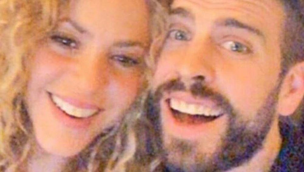 Shakira y Piqué se divierten con los filtros de Snapchat
