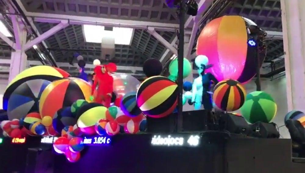 La Ciudad Condal ensaya para la cabalgata de Reyes