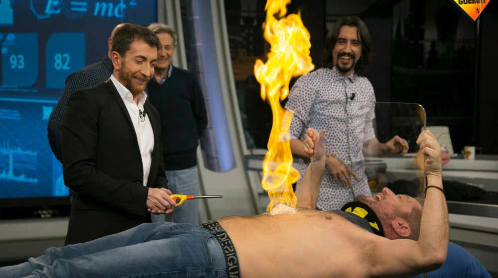 Un Monaguillo muy ardiente en la prueba de Marron