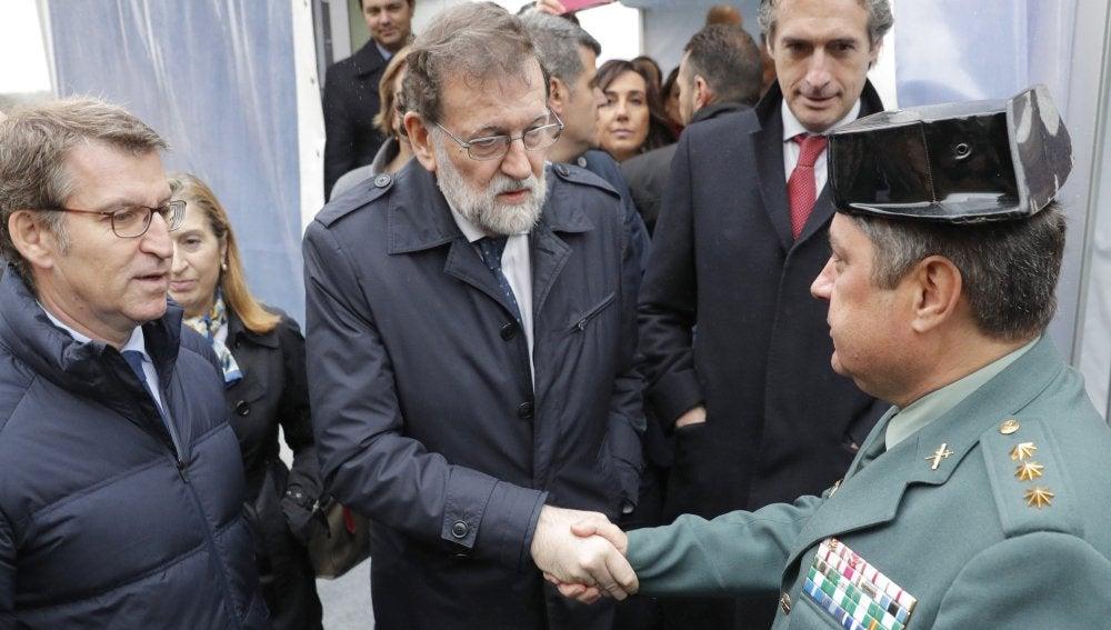 Rajoy felicita al coronel de la Guardia Civil