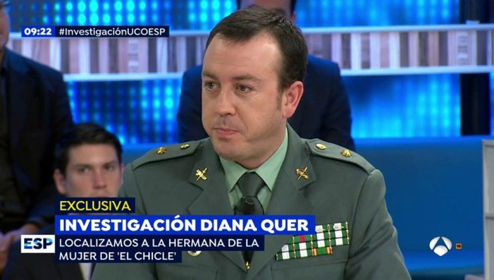 Antena 3 tv comandante jefe de la uco 39 el chicle 39 era for Espejo publico diana quer