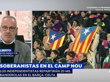 """Julio Alberto: """"Le hacen un flaco favor al fútbol y al Barça"""""""