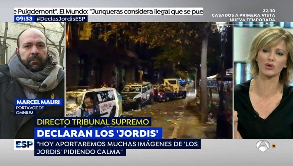"""El Portavoz de Omnium: """"Nadie se va a la cárcel durante tres meses porque se hayan destrozado unos coches"""""""