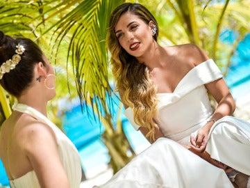 """La primera conversación de Sheyla y Carolyne como casadas: """"Me parece una mujer alucinante"""""""
