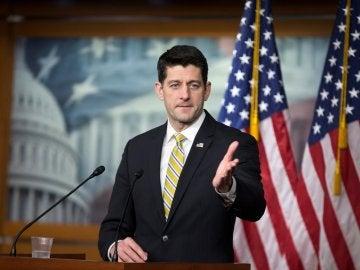 El presidente de la Cámara de Representantes de Estados Unidos, Paul Ryan