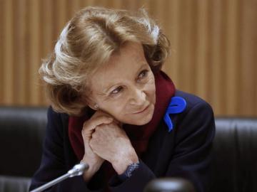 La exministra socialista de Economía, Elena Salgado