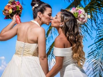 Complicidad y deseo en las primeras bodas de 'Casados'