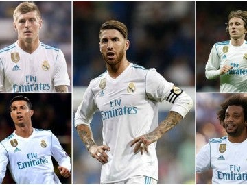 Jugadores del Madrid presentes en el once ideal de la UEFA