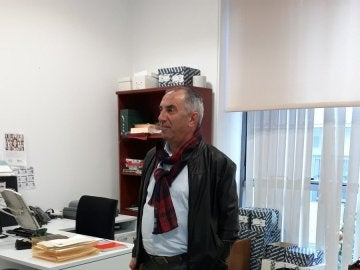 El alcalde de Pedrera, Antonio Nogales