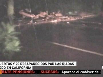 Imagen de las inundaciones en California