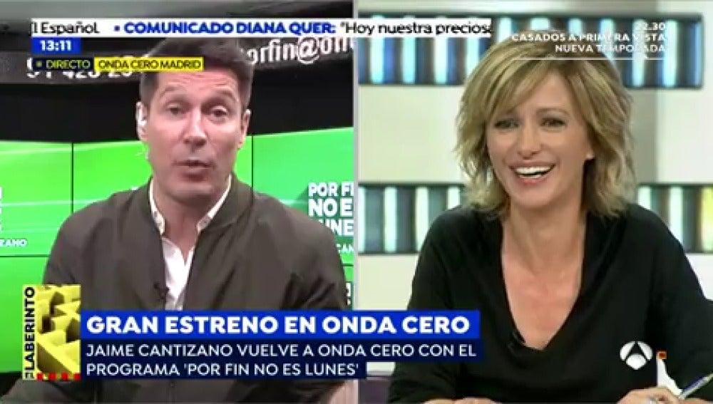 """Jaime Cantizano: """"En 'Por fin no es lunes' el humor y la ironía van a estar muy presentes"""""""