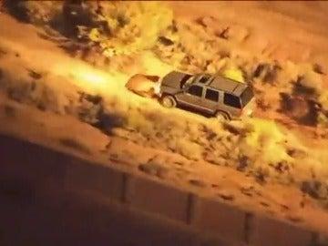 Romántica persecución policial en Arizona